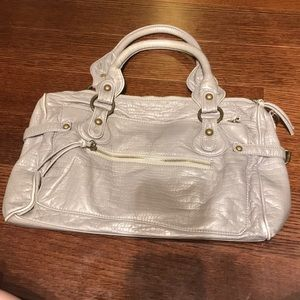 Urban Outfitters Grey Leather Purse